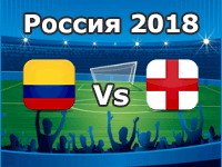 Kolumbien – England WM 2018