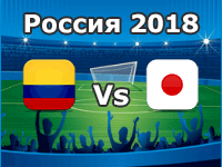 Kolumbien - Japan, WM 2018