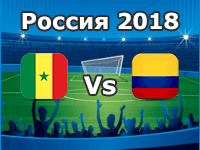 Senegal – Kolumbien WM 2018